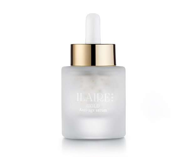 Ilaire's 30 ml Gold line anti-aging face serum